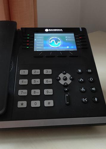 Sangoma s705 phone   a few questions   display upside down