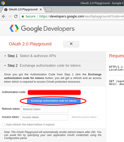 How-To Guide for Creating Oauth credentials for Google Voice