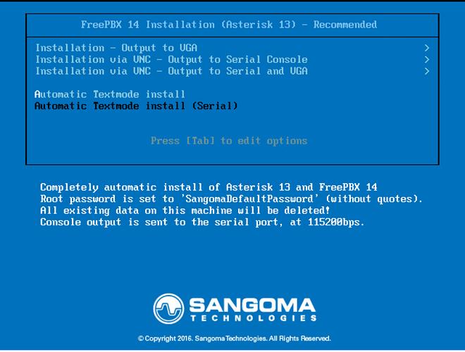 Freepbx 14 default root password - Installation - FreePBX