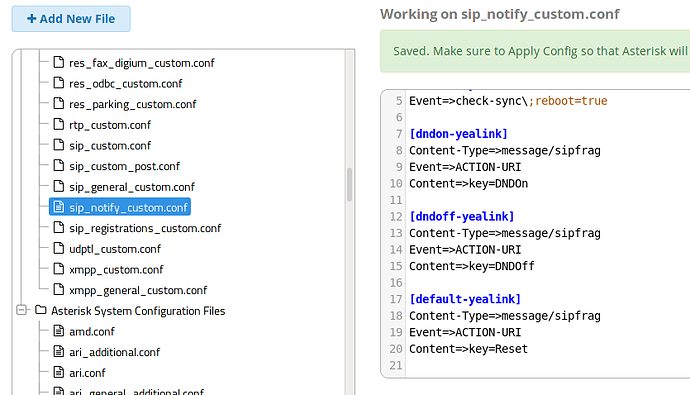 Automatically clear endpoint config on extension removal