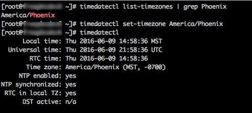 Changing timezone from UTC? - FreePBX - FreePBX Community Forums