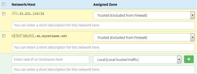 Freepbx Firewall