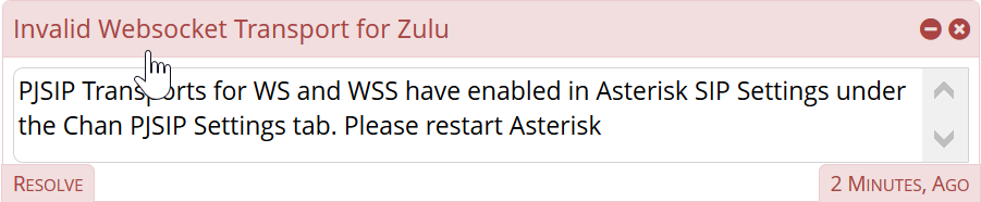 Invalid Websocket Transport for Zulu - Distro Discussion & Help