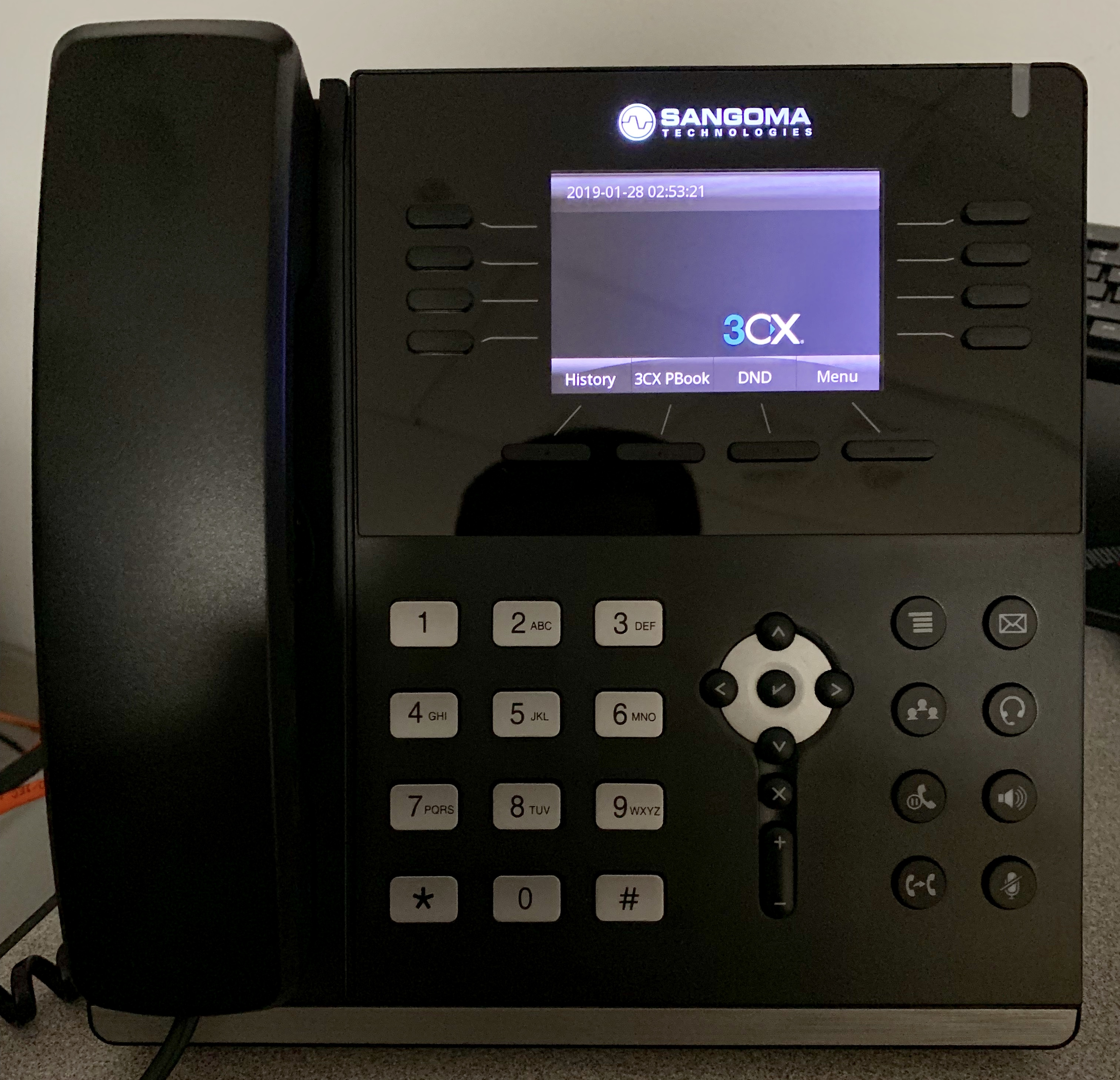 Looks like the S505 works with 3CX too - Sangoma Phones