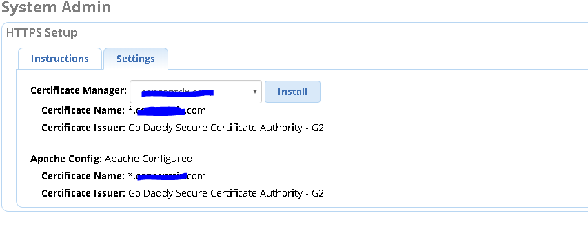 HELP! Installing 3rd Party Certificate problem - General