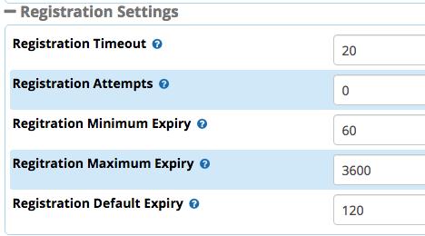 FreePBX SIP Trunk Register Timer? - FreePBX Community Forums