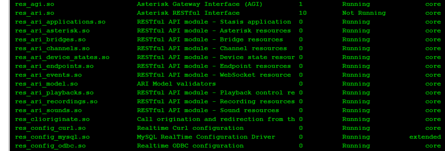 How to troubleshoot Asterisk REST Interface not launching