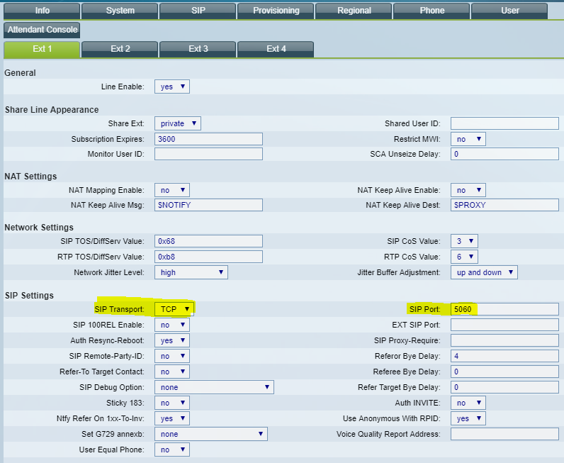 Can't Connect Cisco SPA504G using PJSIP TLS - FreePBX