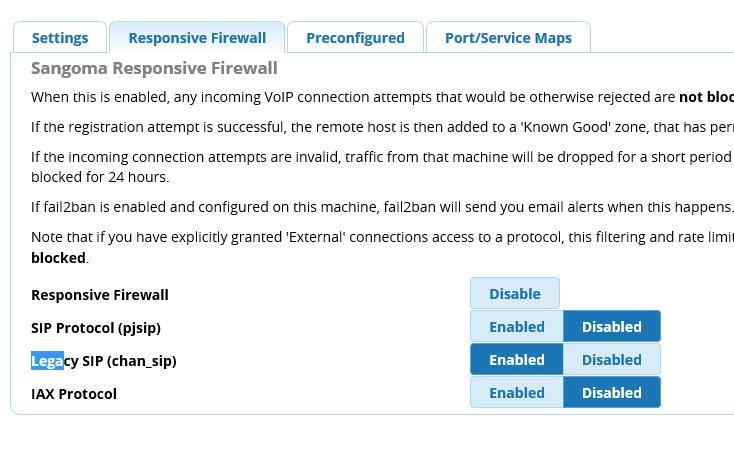 Firewall is blocking tons of Yealink phones - Distro